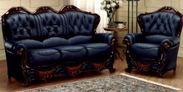 Достоинства кожаной мебели