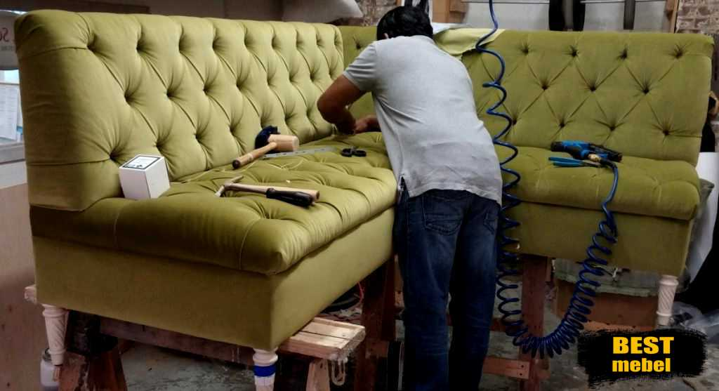 Что такое перетяжка мягкой мебели