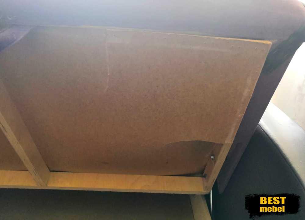 Ремонт и перетяжка маленького дивана 31.06.2019