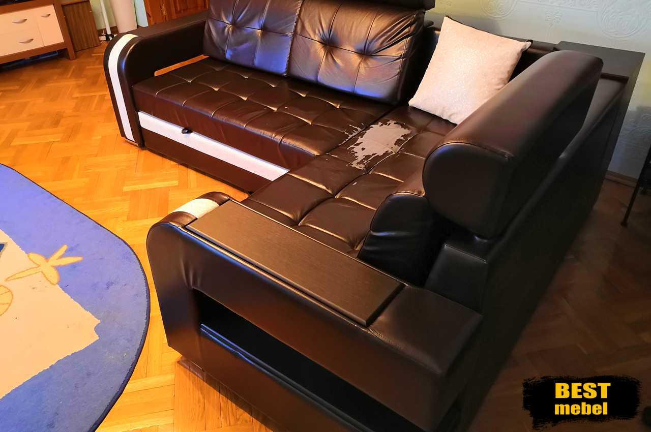 Перетяжка углового дивана - Камала 55 Казань