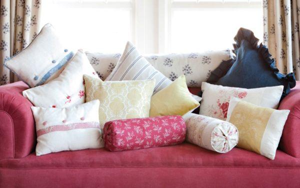 Обивка подушек дивана