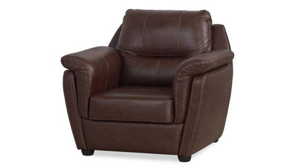 Перетяжка и обивка кресла кожей