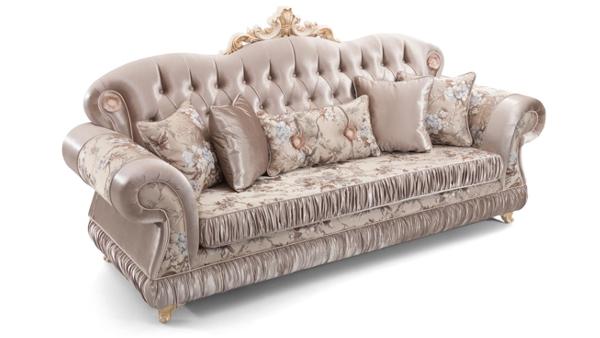 перетяжка классического дивана
