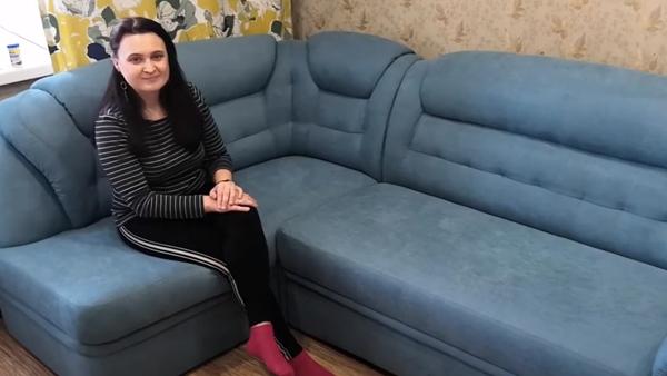 углового дивана с креслом Казань